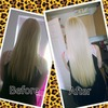 20inch hair extensions. Pre tipped keratin glue ins.