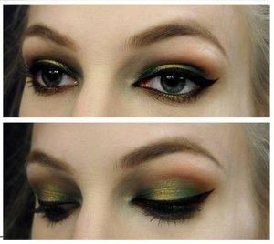 Sleek's Garden of Eden palette and Sugarpill's Goldilux <3