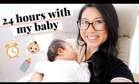 24 HOURS WITH A NEWBORN | DITL - 2 MONTH OLD