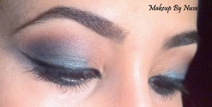Egyptian inspired settle eyeliner and makeup (With better lighting :P)
