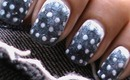 Sandwash Denims & Dots Nail Art Designs How To With Nail designs and Art Design Nail Art About