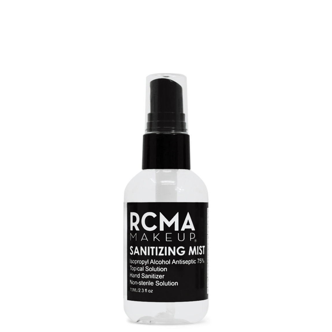 RCMA Makeup Sanitizing Mist alternative view 1 - product swatch.