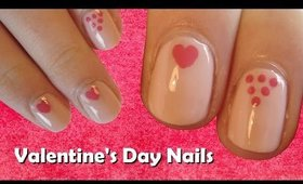 #2 Easy Nail Art for Valentine's Day Guide ♥ Easy Valentine's Day Nail Art Design