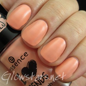 Read the blog post at http://glowstars.net/lacquer-obsession/2015/03/essence-i-love-trends-nail-polish-in-im-so-fluffy-and-satin-matt-top-coat/