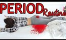 My Period Night Routine | Hacks ALL GIRLS NEED TO KNOW !!