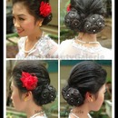 Minahasa Traditional Hair Bun