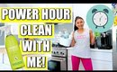 Clean With Me: Power Hour Speed Cleaning