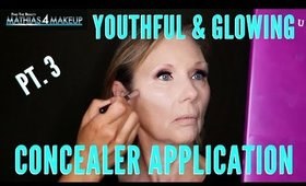Youthful & Glowing Concealer Application Tips For Mature Women | mathias4makeup