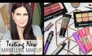 Testing Out New Drugstore Makeup - Maybelline Full Face Chit Chat!