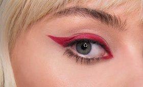 Red Eyeliner Make-up Tutorial