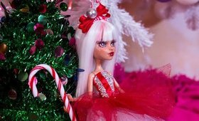 The Christmas Doll repaint i didnt finish on time