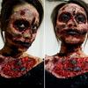 I AM Zombie makeup look