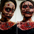 I AM Zombie makeup look