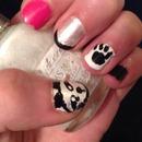My Panda nails