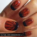 Spiderweb French Nails
