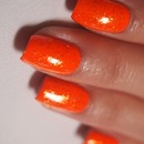 31 Day Nail Challenge: Day 2 Orange