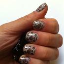 Gray Leopard Sparkles