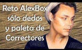 Reto maquillaje (creativo) usando sólo paleta de correctores, Alex Box