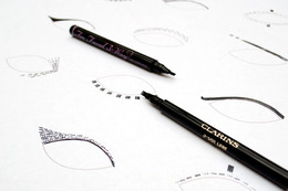 Trident Eyes: Pitchfork-Shaped, Beginner-Proof Liquid Eye Liners