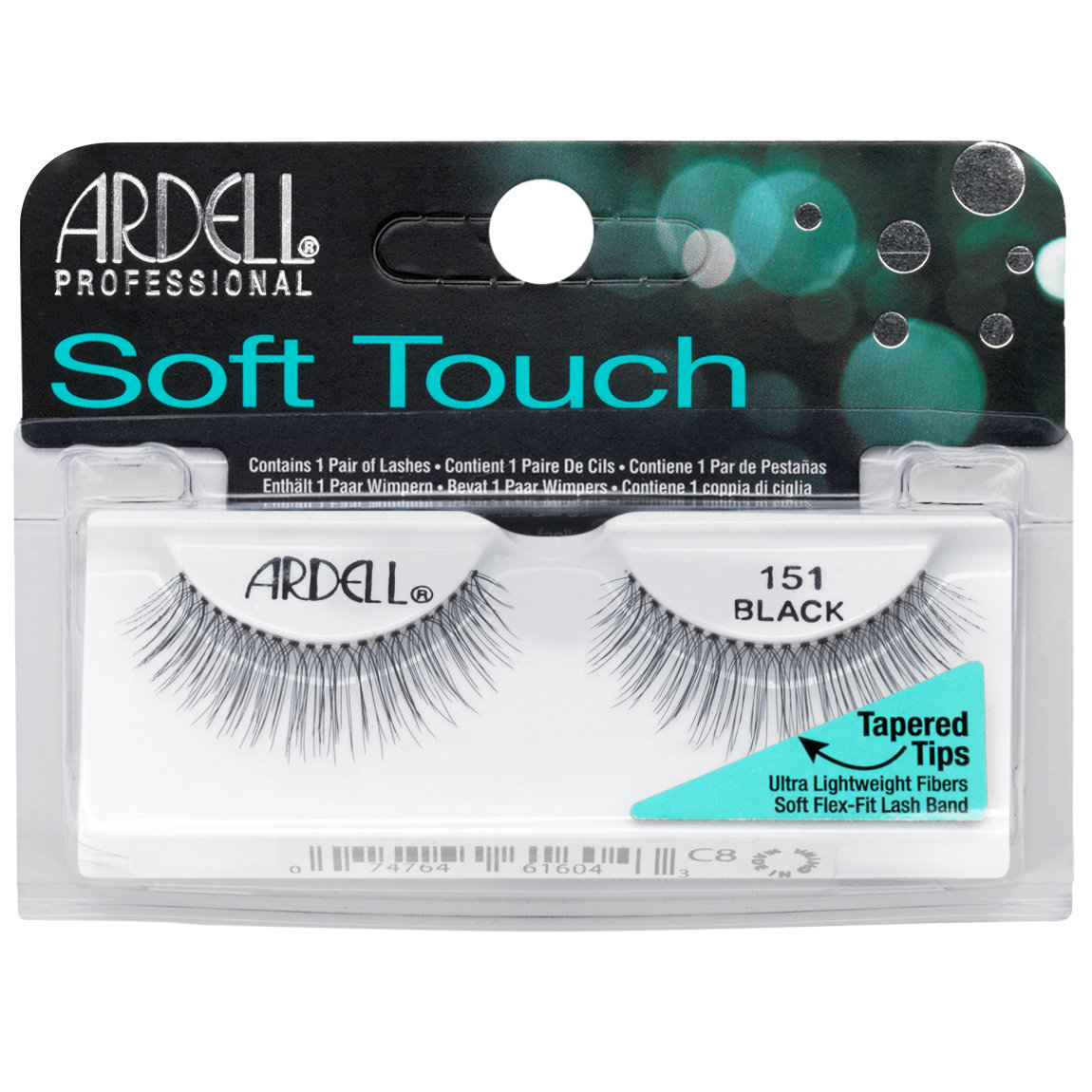 14eddcce418 Ardell Soft Touch Lashes 151 Black | Beautylish