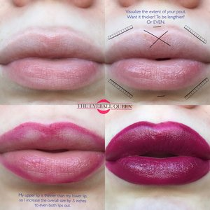 Something I get asked about quite often is my lips! Here is how I OVERLINE, without making it look clownish. Enjoy. http://theyeballqueen.blogspot.com/2016/10/how-to-create-plump-lips-without.html
