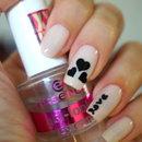 Hearts Nail Design