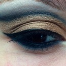 Black and gold cut crease 😘
