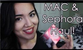 MAC and Sephora Haul!