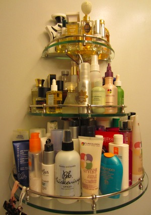 A peek inside Ning's NYC bathroom...
