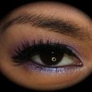 Purple Glam Look