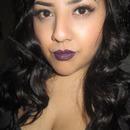 Purple Lips.