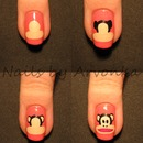Paul Frank Nails - Phototutorial