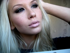 "I adore "" club "" eyeshadow by MAC cosmetics :)"