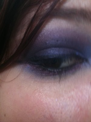 spring time blue purple