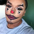 Clowning with makeup