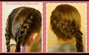 Cinch Knot Feather Braid Hairstyle, Braided Hairstyles