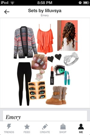 I made this on polyvore. Thoughts???