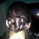 Another view of Braided Bun