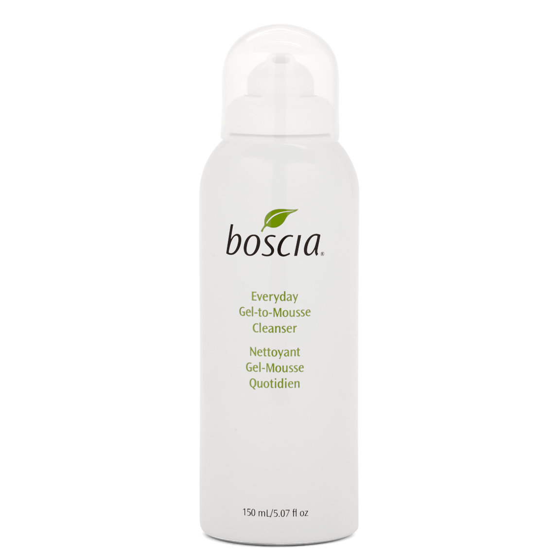 boscia Everyday Gel-to-Mousse Cleanser product swatch.