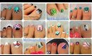Toenail Art Designs Compilation | New Tutorials! ♥