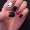 Disney Mickey and Minnie Nails