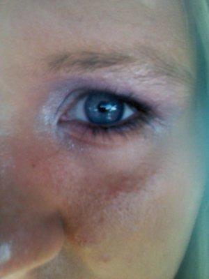 Lavender Smokey Eye