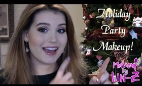 Easy Holiday Party Makeup Tutorial: Perfect for Christmas & New Year's!