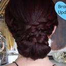Braided Updo Hairstyle (Tutorial)