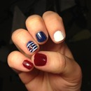 a little red white and blue