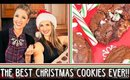 Get BAKING With Me!!! 🍪 || Caramel Filled CandyCane Christmas Cookies!