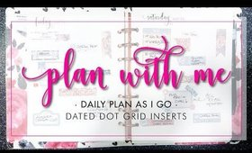 Plan With Me! PAIG | 5.19-5.25 • Dated Daily Dot Grid Inserts | Bliss & Faith Paperie
