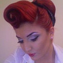 Pinup Girl Look
