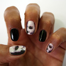 Michael Myers Nail Art decals