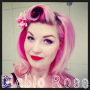Diablo Rose Pink Pin Up Barbie